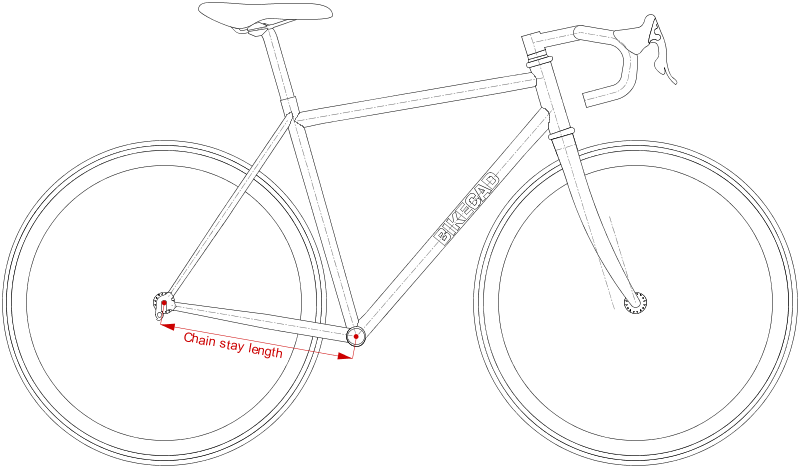 Bicycle Frame Dimensions Www Bikecad Ca
