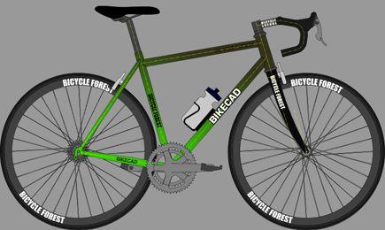 Scaled image of bike
