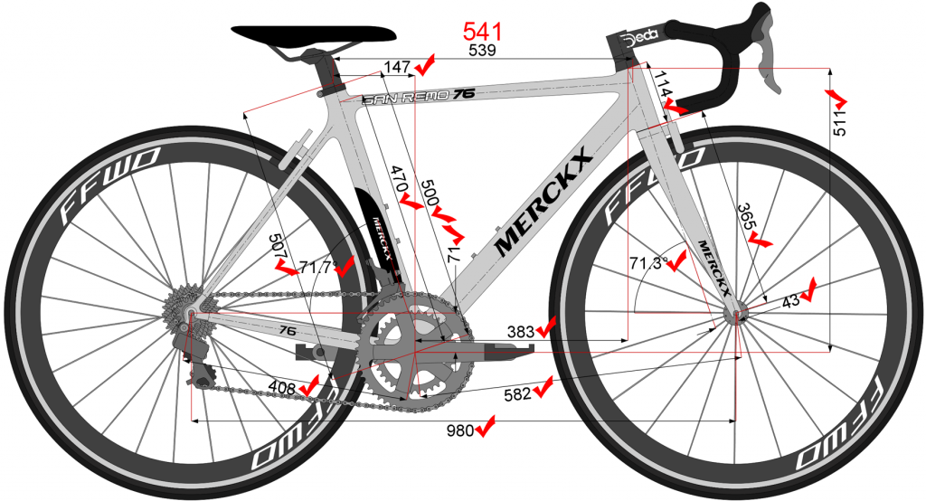 Struggling To Match Dimensions Www Bikecad Ca