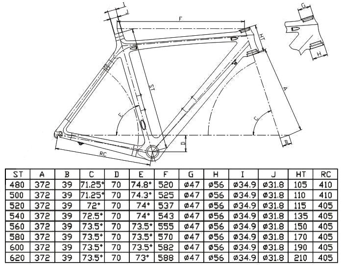 Test Of Fit Adviser Www Bikecad Ca