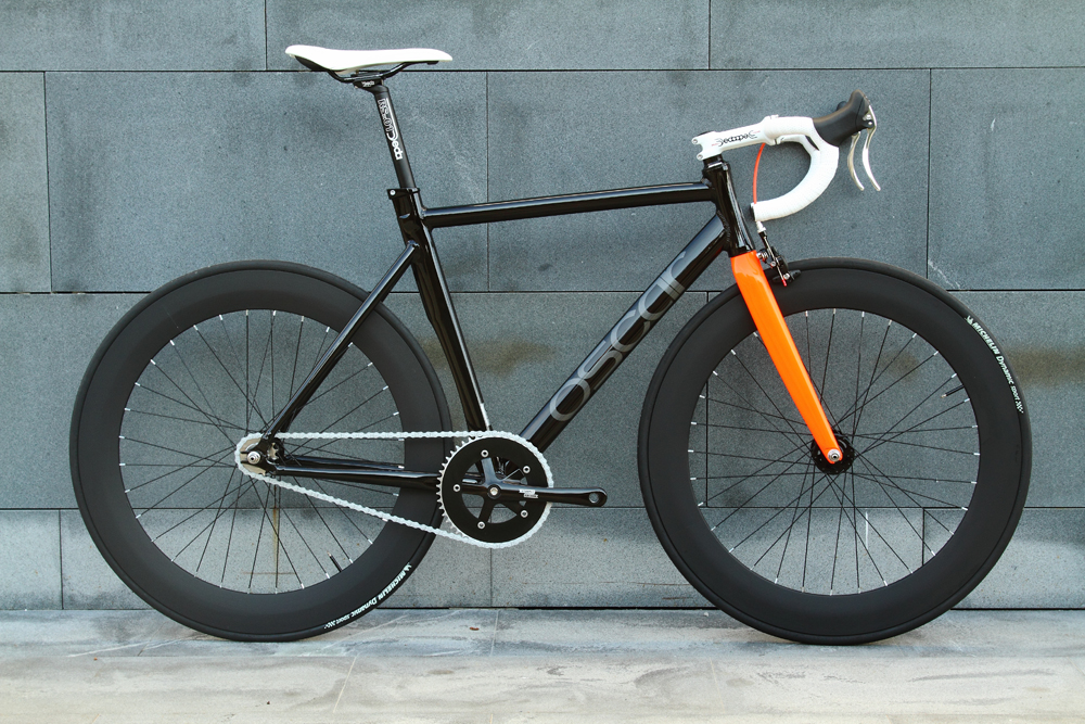 OSCAR O14-O 2014 singlespeed training road bike