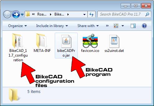 BikeCAD folder