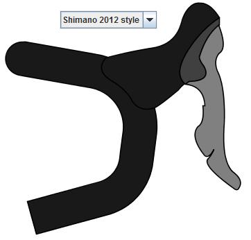Shimano 2012 brake lever