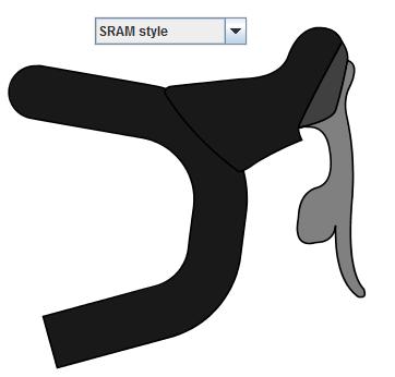 SRAM brake lever