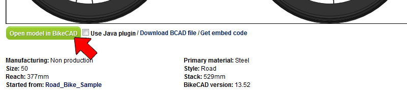 Launching The Free Version Of Bikecad Www Bikecad Ca
