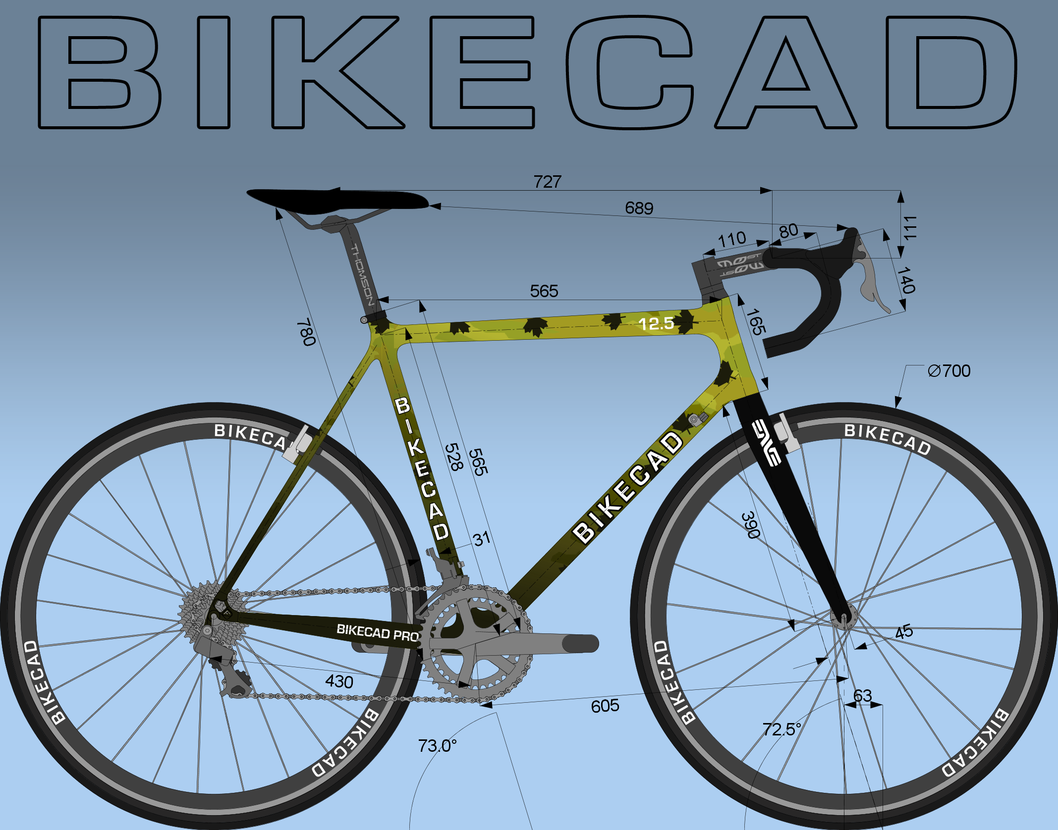 Drawing Software Www Bikecad Ca Bicycle Design Software