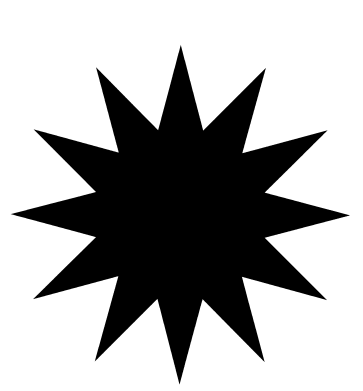 Dodici logo dingbat