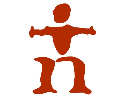 Naked logo dingbat