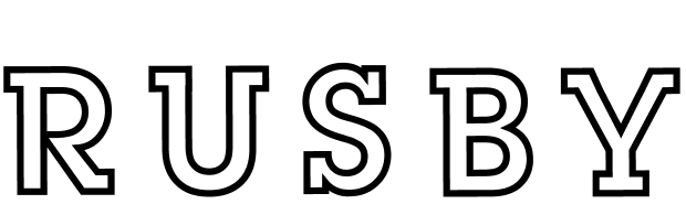 Rusby logo dingbat