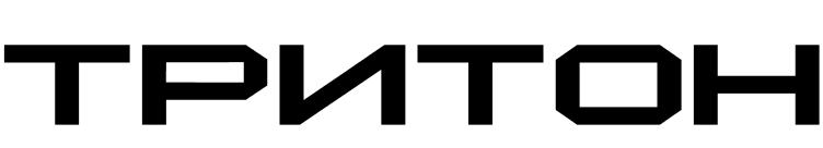 Triton cyrillic dingbat